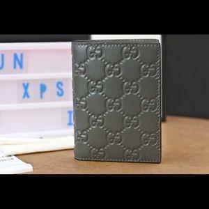 Gucci Signature Leather Card Case, 352358 CWC1R